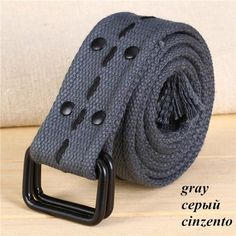 Fulision Unisex canvas belt tactical woven belt Durable Canvas belt male Wild