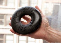 Iriver sound donut, black, plastic, gloss, mesh