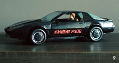 Knight 2000 voice car / Knight Rider / K2000 - Kenner - 1983 (didn't have the toy but loved the show)