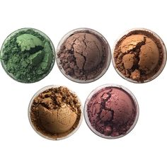 Detrivore Eye Shadows: The October Rust Collection