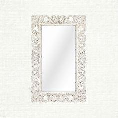 Porter Mirror In White | Arhaus Furniture