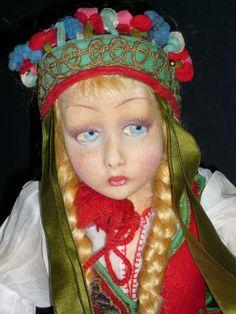 """Lenci """"Mara"""" Doll Found on Ruby Lane www.rubylane.com"""