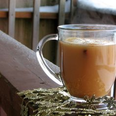 Spiced Apple Cider. Perfect for a cold, snowy day