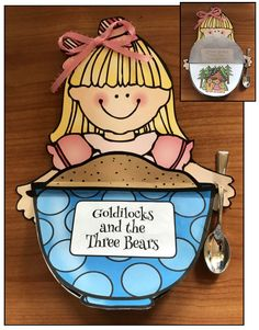 "Fairy tales: ""goldilocks & the 3 bears"" flip-the-flap cra Retelling Activities, Fairy Tale Activities, Fairy Tale Crafts, Fairy Tale Theme, Bears Preschool, Preschool Activities, Nursery Rhyme Crafts, Nursery Rhymes, 3 Bears"