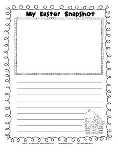 This Easter Snapshot writing template is ideal for students to write a reflection about their Easter memories and special Easter moments.  Perfect ...
