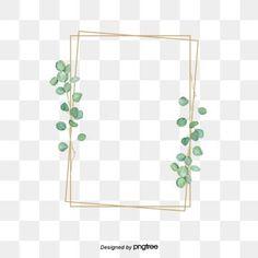 Green eucalyptus metal decorative frame PNG and PSD Adobe Photoshop, Frame Floral, Flower Frame, Adobe Illustrator, Frame Border Design, Picsart Png, Illustration Vector, Clipart Images, Images Logo