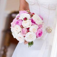 Tatiana & Vasiliy's Romantic Pink Wedding – Bouquet