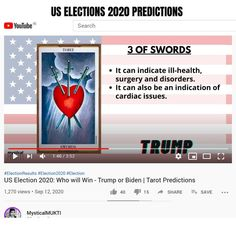 Election Results, Us Election, Tarot Prediction, Who Will Win