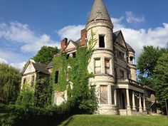 Crumbling in western Louisville, the abandoned Ouerbacker Mansion is one of the most at risk architectural treasures in the region.