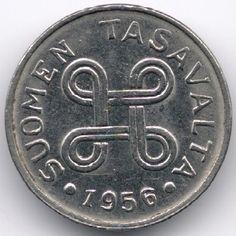 Finland 1 Markka 1956