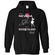 (Tshirt Discount) NEVADA GIRL IN RHODE ISLAND WORLD [Tshirt design] Hoodies…