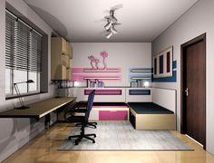 Projekt pokoju dziecięcego http://mebelstyl.wix.com/studio