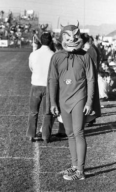 1970 sun devils mascot quotsparkyquot looked scarier than actual