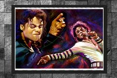 Michael Jackson The Legend  Home Decor painting by MassiahArts