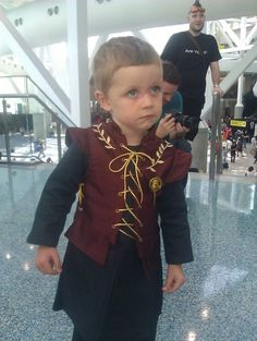 AWESOME Tyrion Cosplay (among others if you click through). This kid's parents are the bomb.