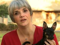 Liza Love was driving home Friday night when she spotted an animal in the road. Realizing no one was stopping to help Love pulled a U-turn and stopped to help what turned out to be a Chihuahua.