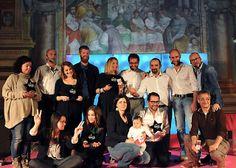 I vincitori del primo Igers Awards a Viterbo durante Medioera