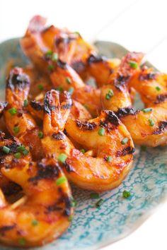 Sriracha Brown Sugar Garlic Shrimp