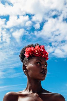 Rwandan Model Lilian Uwanyuze Lights Up The Beach In This Amazing Photo Shoot Okayafrica.