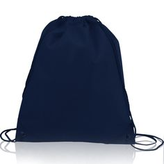 Improved Polyester Drawstring Bags, Cinch Bags, Sack packs, Gym Bags, Large Size POL20