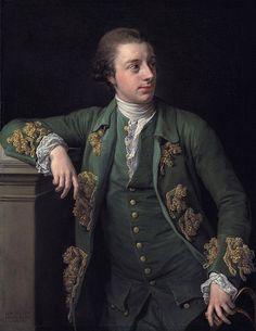 Thomas Fortescu by Pompeo Girolamo Batoni, 1767.