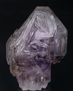 Sceptered Smoky Amethyst with Fenster Growths -...