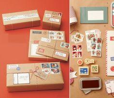 Paquetes de regalo con un toque mágico