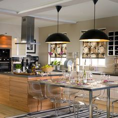 Add glamour to your kitchen | Home Interior Design, Kitchen and Bathroom Designs, Architecture and Decorating Ideas