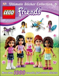 """Looking for great deals on """"LEGO Friends Ultimate Sticker Collection""""? Compare prices from the top online toy retailers. Save money when buying your LEGO play sets for your children and yourself. Lego Friends, Lego Books, Dk Books, Dk Publishing, Fun Facts About Yourself, Buy Lego, Unisex, Book Activities, Activity Books"""