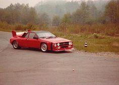 Lancia 037 gr.B test