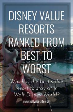 Planning a Walt Disney World location and wondering about the resorts? Check out this complete comparison of all Disney Value Resorts ranked best to worst! Disney Value Resorts, Disney Resort Hotels, Disney World Hotels, Walt Disney World Vacations, Disney Parks, Disney Worlds, Family Vacations, Family Travel, Orlando Disney