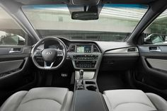 The 2017 Hyundai Sonata is a strong family-sedan value, with inconspicuous looks hiding top-notch safety and fuel economy. Find out why the 2017 Hyundai Sonata is rated by The Car Connection experts. Hyundai Cars, Mid Size Car, Compare Cars, Hyundai Models, Hyundai Sonata, Car Shop, Toyota Camry, Big Boys, Autos