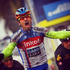 Pro Cycling WorldTour - Great pic of #PeterSagan winning today's stage of #TirrennoAdriatico