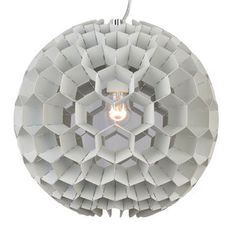 Genon Globe Pendant White, $275, now featured on Fab.
