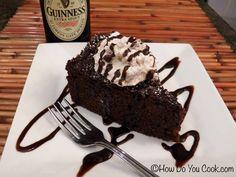 Gingerbread-Guinness Cake