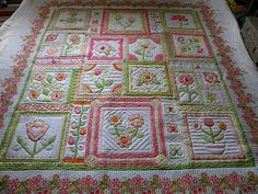 Very pretty, really think this is a cute quilt pattern too.
