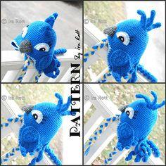 Ravelry: Blue Parrot Hat - Crochet PDF Pattern pattern by Ira Rott  $6.50