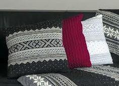 strikket pute - Google Search Knitting, Google, Tricot, Breien, Stricken, Weaving, Knits, Crocheting, Yarns