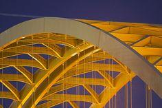 Big Mac Bridge, Cincinnati, Ohio.