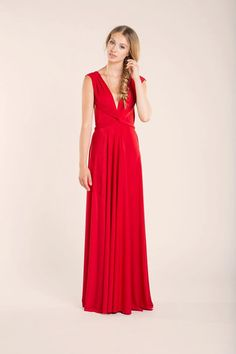 Red Elegant Infinity dress, Marilyn Dress, Long Red Infinity Dress, Celebration Red Long Dress, Red Gown, Ready to ship red long dress  https://www.etsy.com/listing/179957775/red-elegant-infinity-dress-marilyn-dress?ref=shop_home_active_21