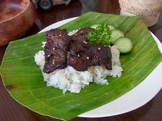 Heavenly Beef (Neua Swarn เนื้อสวรรค์) ~ Taste of Siam