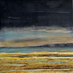 Aafke Buitelaar - Landschap 60 x 60