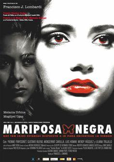 "Mariposa negra (DVD ESP LOM), basada en la novel·la ""Grandes miradas"" d'Alonso Cueto."