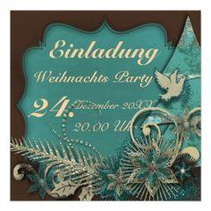 """Einladungskarte """"Silent Night"""" Vers03, Weihnachts Party, Photos können hinzugefügt, Hintergründe und Gestaltung kann ausgetauscht und Text kann geändert werden. Grafik und Entwurf bei ArianneGrafX©2013"""
