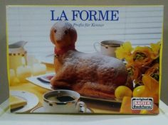 Made in Germany   La Forme - Kaiser    -This Item is Preowned-    Backforme Mold  Lamb Mold  Cake Pan  Nonstick    Mold in Excellent condition  Box shows some wear and has a piece of tape on it.     Please view photos and ask any questions before purchasing    Thank you  | eBay!