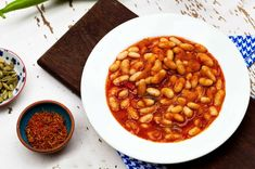 38 Dried Bean Ideas For Your Dinner - Food Vegetable Drinks, Vegetable Recipes, Meat Recipes, Seafood Recipes, Turkish Recipes, Italian Recipes, Ethnic Recipes, Fast Food, Fish And Meat