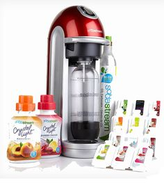 Save 490n the Soda Stream Red Fizz Bundle Pack plus Free Shipping!