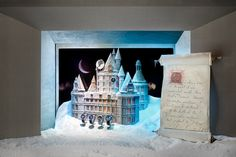 New York's Most Incredible Holiday Windows #refinery29  http://www.refinery29.com/2014/11/78553/nyc-holiday-displays-2014#slide32  The princess's castle.