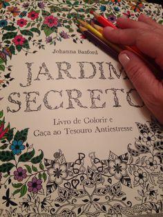 Jardim Secreto é um livro lindo para colorir