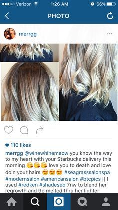 Rooty Blonde... Toning Bleached Hair, Redken Shades Eq, Hair Color Techniques, Bayalage, Creative Colour, Beauty Hacks, Beauty Tips, Dream Hair, Color Correction